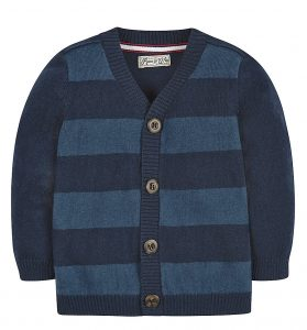 navy-striped-knitted-cardigan