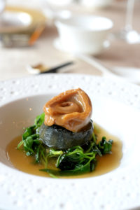 Whole abalone with crispy beancurd