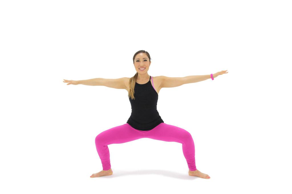 W-plie squat B
