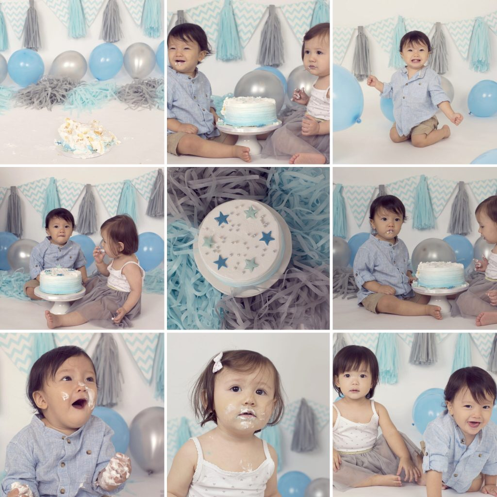 how to celebrate first birthday: Cake smash shootexample 1