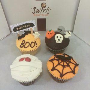 Singapore Halloween cupcakes from Swirls