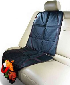 your seats that need protection how many times have you found crumbs in the crevices of your leather upholstery snapkis deluxe car seat protector is