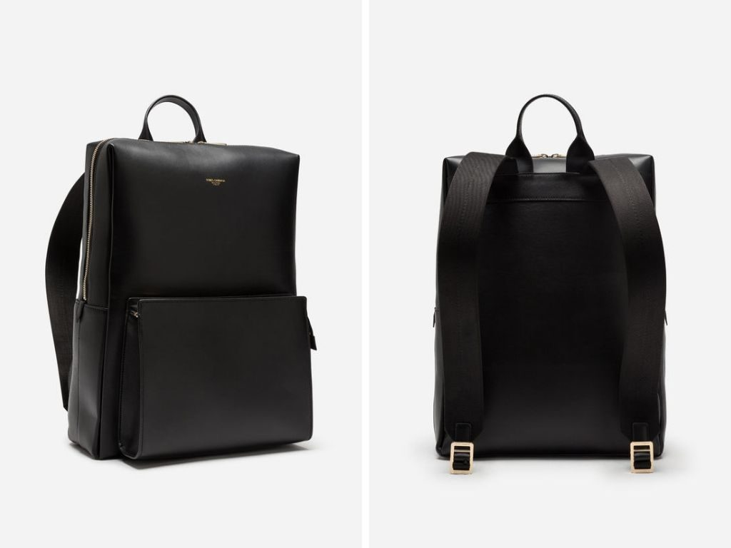 D&G calfskin Monreal backpack, the perfect work accessory for your Dad this Father's Day