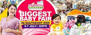 Mummys Market Baby Fair at Singapore Expo
