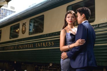Choo Yilin's latest capsule collection is inspired by the old world glamour of E&O trains and the Majestic Hotel Kuala Lumpur. The campaign features travel influencers and couple Amelyn Beverly and Dan.
