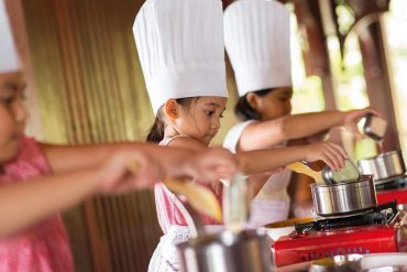 While on holiday, you and your kids can also learn how to make classic Malay dishes at Four Seasons Langkawi.