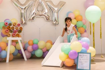 Aside from this gorgeous photo corner, kids could also try out several activities at the Advance Kids launch.