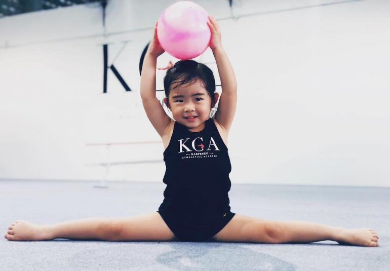 With Advance, your child can try a wide variety of activities, including gymnastics to discover their favourites. (Image from Karpenko Gymnastics Academy's Facebook page).