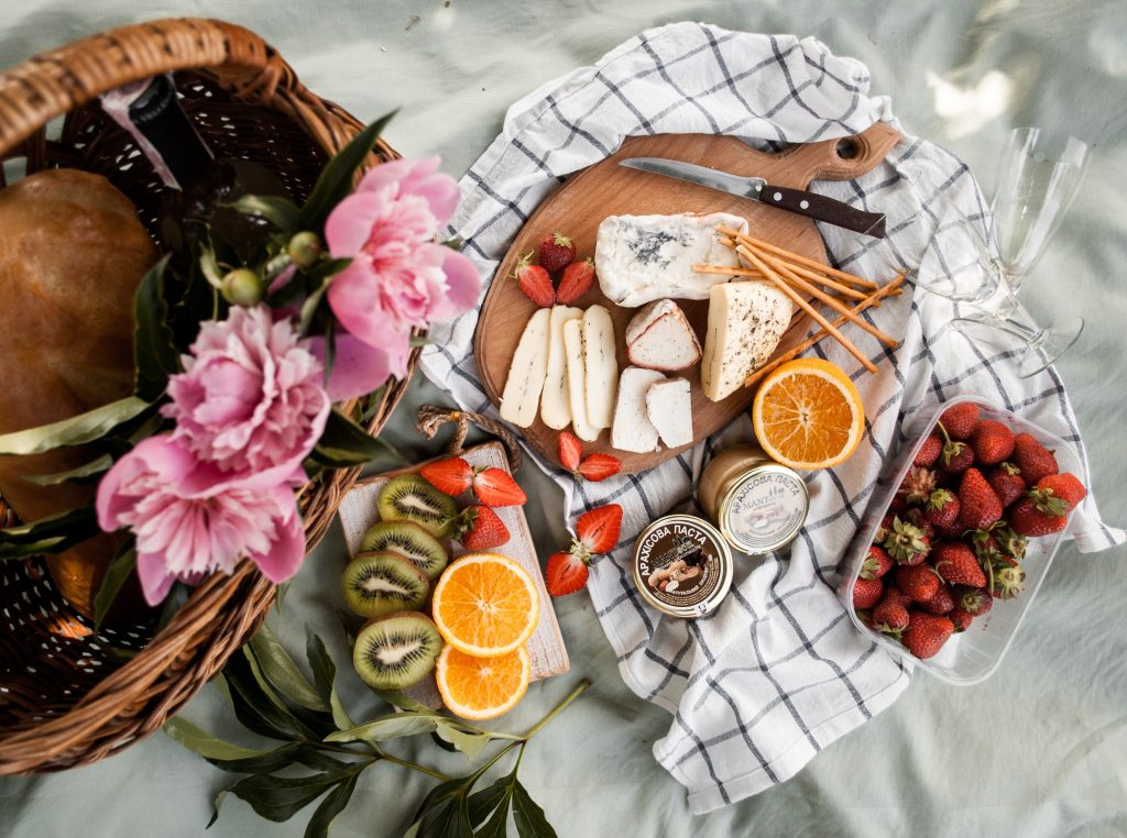 Feast on an indoor picnic with gourmet food from Da Paolo Gastronomia and Hediard.