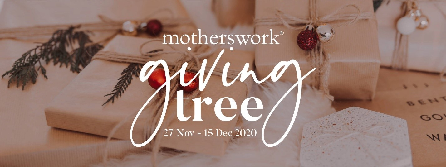 Motherswork giving tree for christmas
